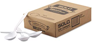 product image for SLOGBX8SW - Solo Heavyweight Polystyrene Soup Spoons