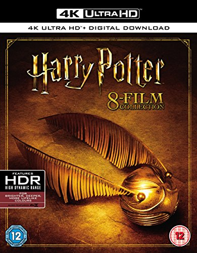 Harry Potter - Complete 8-Film Collection [4K UHD] [Blu-ray] [2017][Digital Download not available in US] by