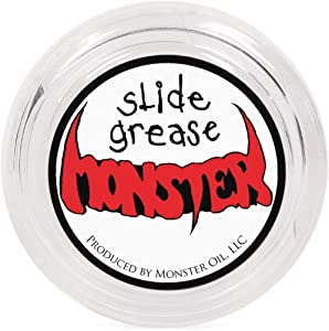 Monster Oil Grease   Synthetic Tuning Slide Lube for Trumpet, Trombone, French Horn, Tuba, Euphonium and other Brass Instruments
