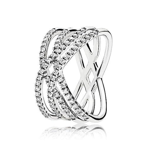 anelli donna pandora argento
