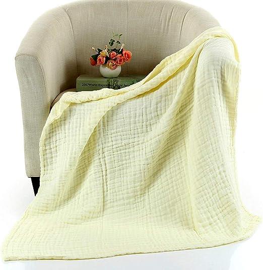 gfdssdfvcx Toalla de baño Mantas para bebé algodón sólido Gasa de ...