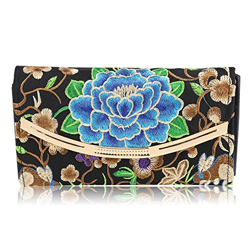 Wallets Honest New Elegant Fashion Women Wallets Geometry Cutout Gold Bordered Design Womens Long Wallet Clutch Women Purse Free Shipping