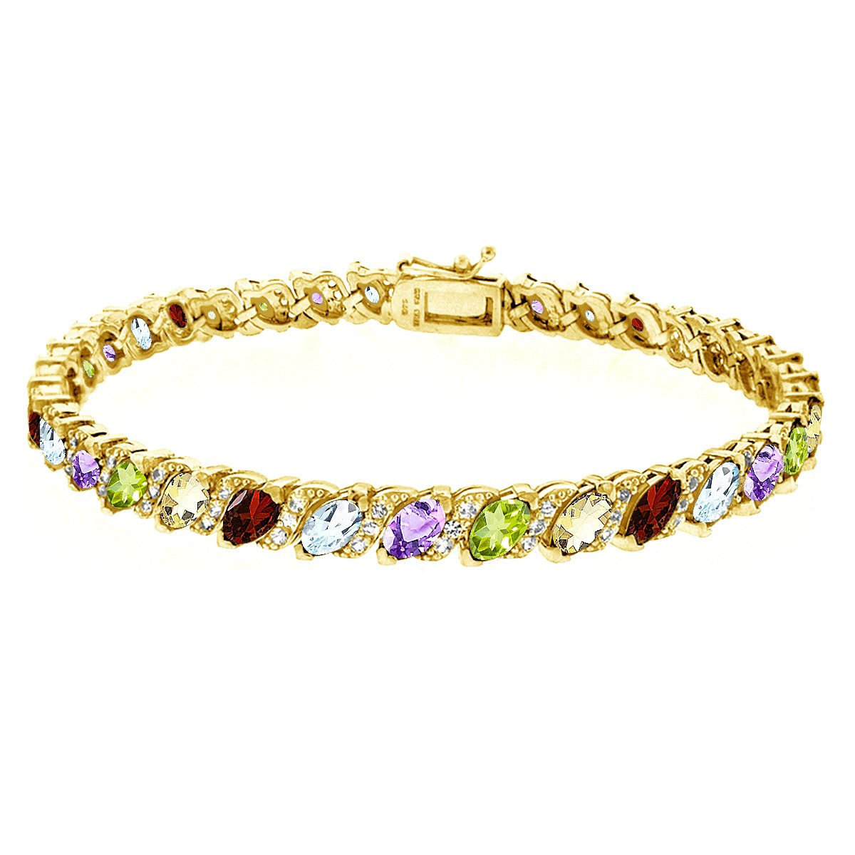 and product ippolita gallery jewelry lyst multi gold yellow bracelet gemstone