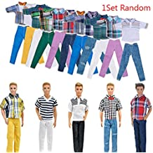 "ZHUOTOP Handmade T shirt And Pants Clothes Outfit for 11"" Barbie Boyfriend Ken Doll"