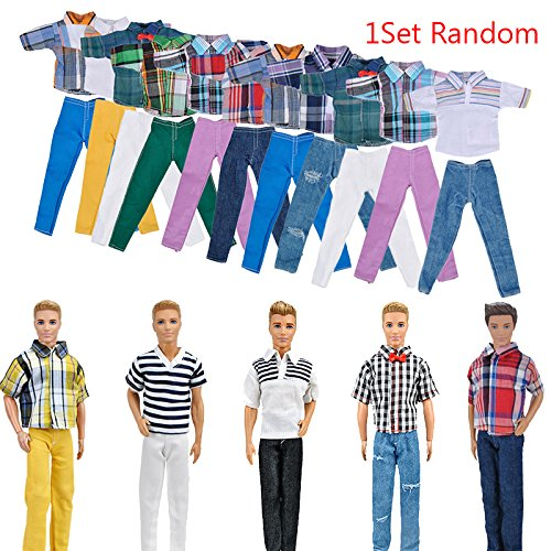 ZHUOTOP Handmade T shirt And Pants Clothes Outfit for 11
