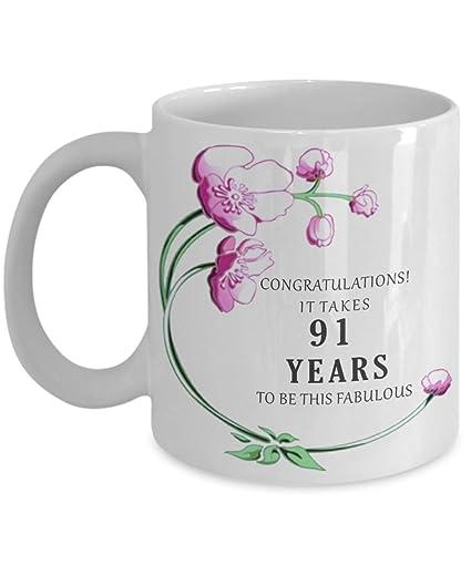 91st Birthday Gift Idea Coffee Mug