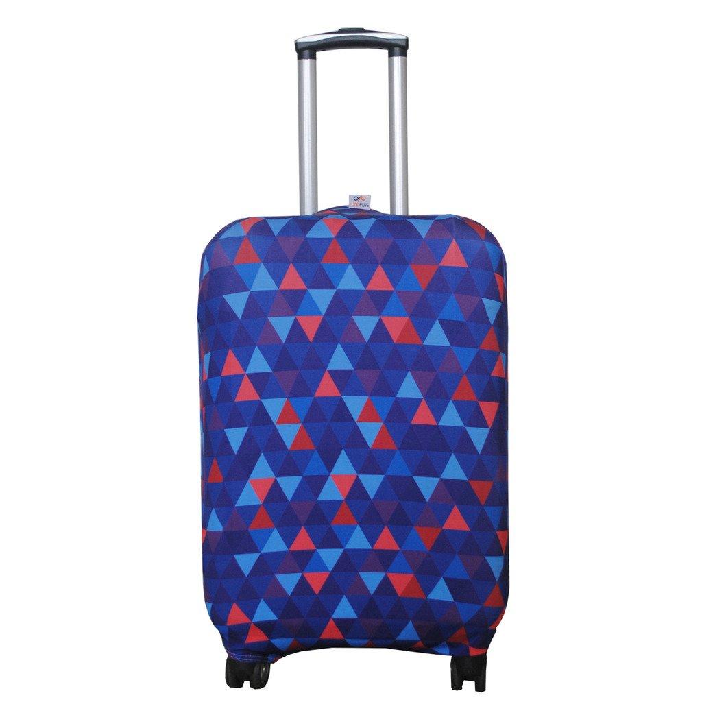 Explore Land Travel Luggage Cover Trolley Case Protective Cover Fits 18-32 Inch Luggage (S(18-22 inch Luggage), Aloha) 104luggagecover