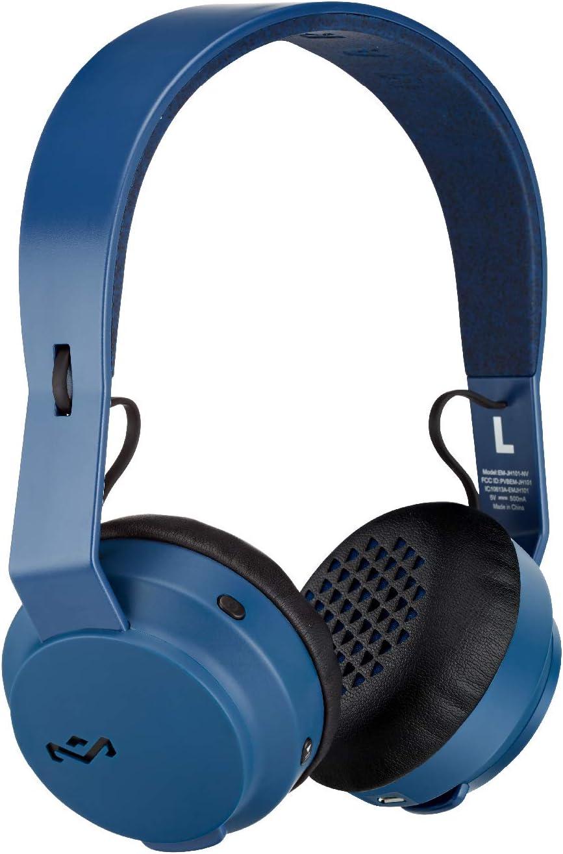 House of Marley Rebel Bluetooth On-Ear Headphones , Navy