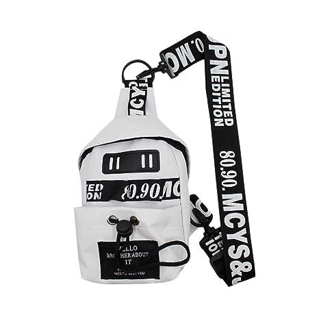 4b16f8b05988 RARITYUS Freestyle Street Chest Sling Bag Mini Hip-hop Personality Phone  Pouch Shoulder Messenger Bag for Women Girls