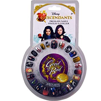 34709e126b5 Buy Disney Descendants Press On Nails With Mal Online at Low Prices in  India - Amazon.in