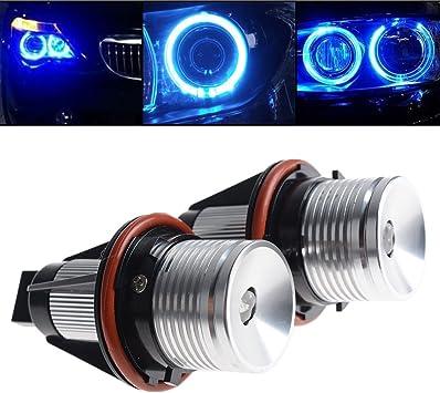 LED Ojos de Ángel Marcador 7000K Xenon Ajuste BMW X3 E83 X5 E53