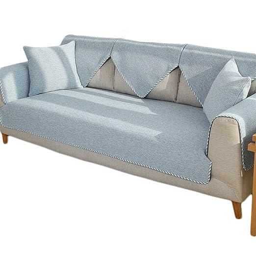 Fundas de sofá de algodón súper suaves, fundas de toallas de ...