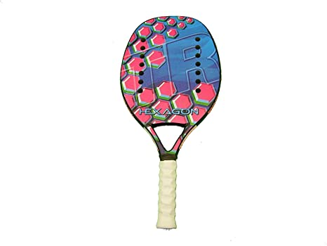 Tom Caruso Raqueta Tenis Playa Racket Superior Ring Hexagon ...