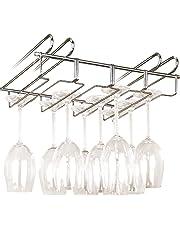 WENKO 2748140100 Accesorio para armarios cuelgacopas, para 12 vasos, Metal cromado