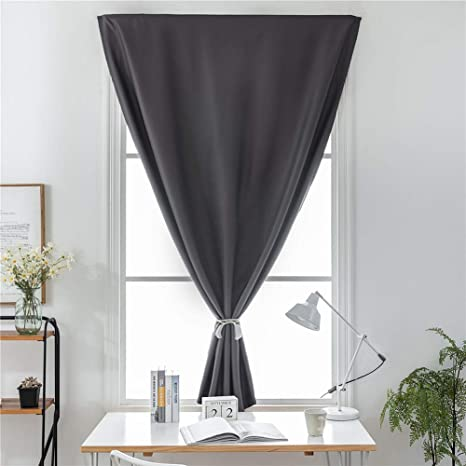 Prosperveil Portable Blackout Blinds Stick on Temporary Window Blackout  Curtains for Kids Children Bedroom Nursery Baby Room with Curtain Tie Back  ...