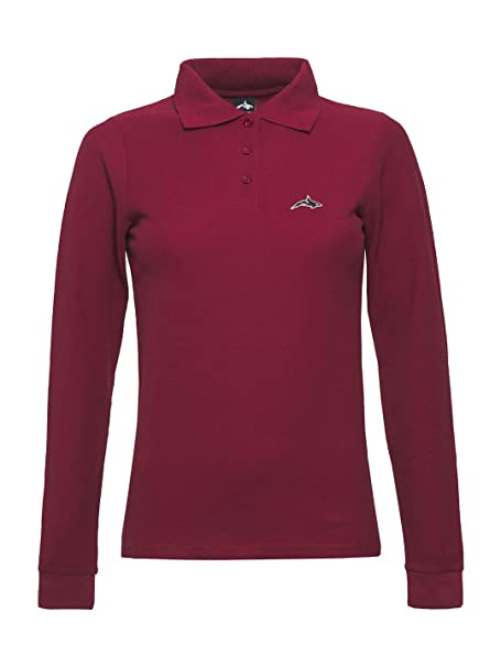 Killer Whale Camiseta de Golf de Manga Larga de algodón para Mujer ...
