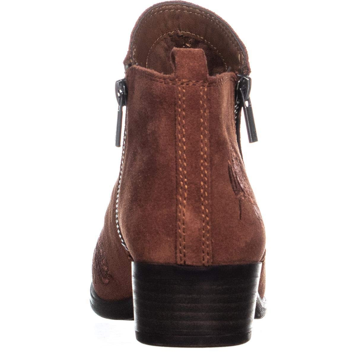 fd8315289090 Lucky Brand Womens Basel 5 Closed Toe Ankle Fashion Boots  Amazon.co.uk   Shoes   Bags
