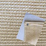 Shade Cloth MEIDUO 85% beige Sun Net for plant cover Greenhouse Flowers, Plants, Patio Lawn (Size : 1.8m×2m)
