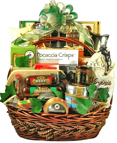 Classic Gourmet Food & Snack Basket by GiftBasket