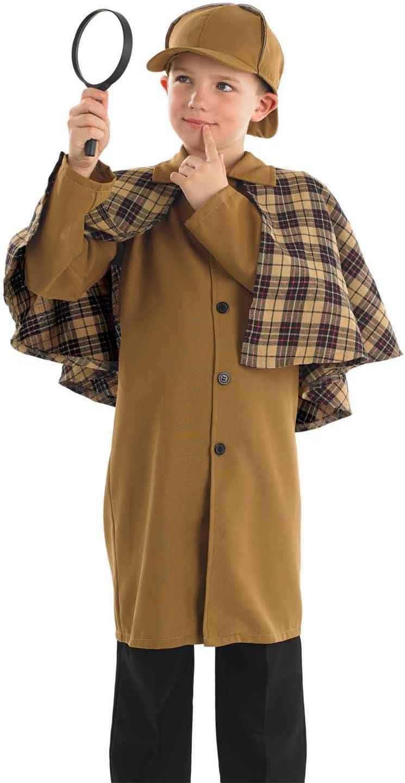 Fun Shack Marrón Detective Victoriano Disfraz para Niños - S ...