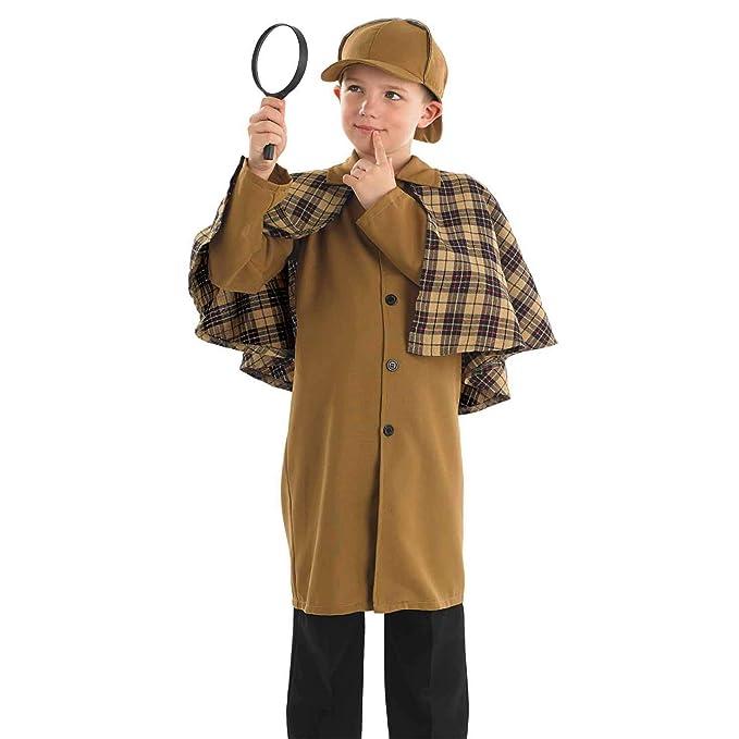 ** SHERLOCK PIPE ADULT FANCY DRESS NEW ** CHILDRENS NOVELTY SPY HOMES OLD MAN