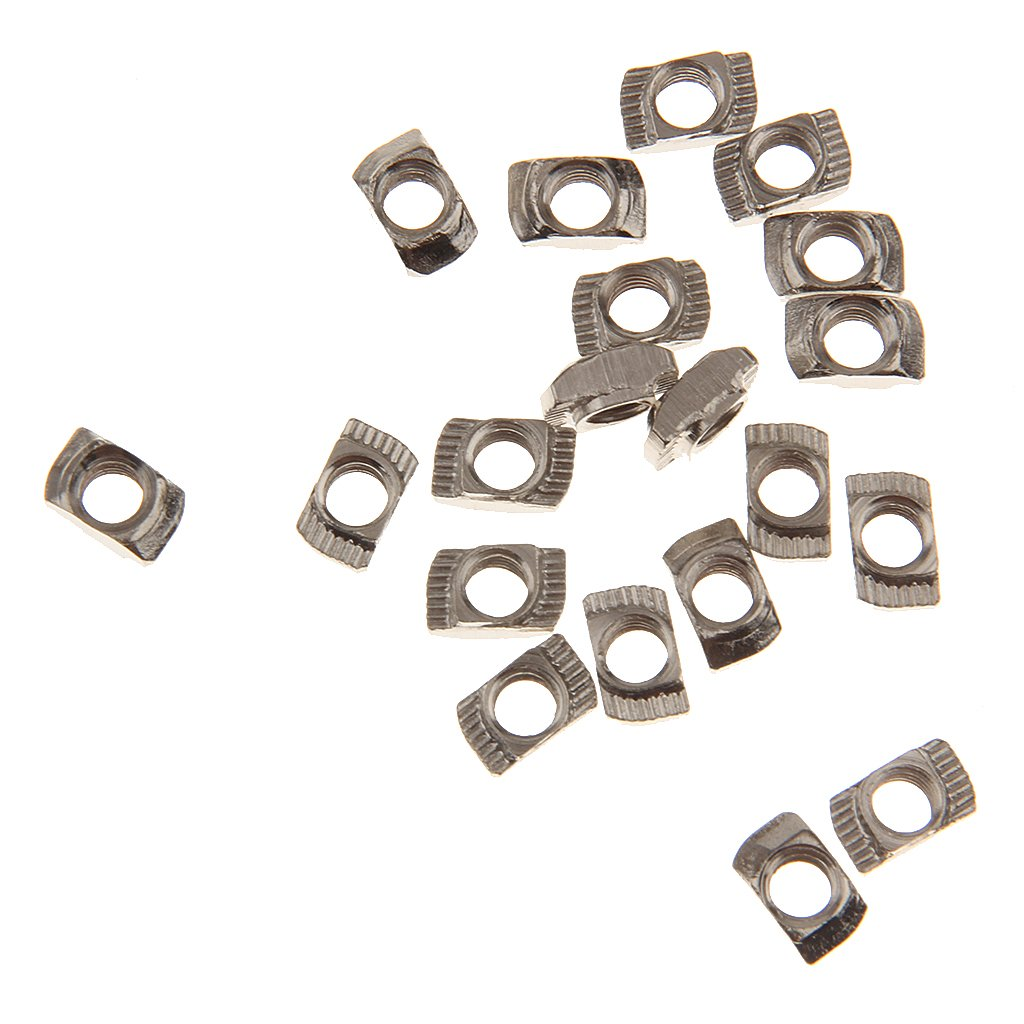 T Ranura de la Tuerca T Bloque de Tuerca Deslizante para 20 Series de Perfiles de Aluminio Modelo Ranura M5 Generic STK0151006739