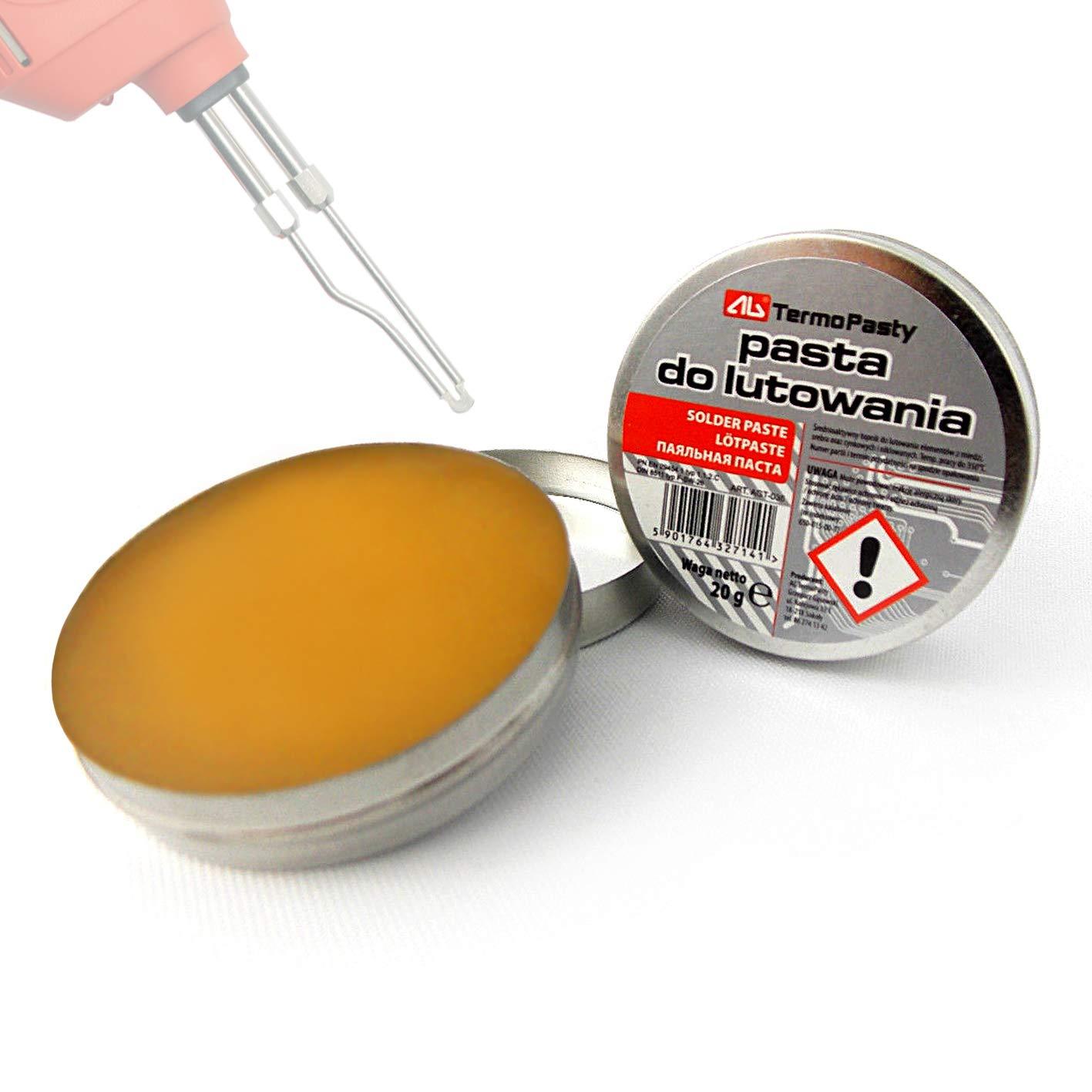 New Flux pasta de soldadura en la 20 G lata para Electronics SMD Fontanerí a DIY etc. TermoPasty