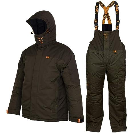 site réputé b8632 cbdd4 Fox Carp Suit - Combinaison Thermique pour pêche à la Carpe ...