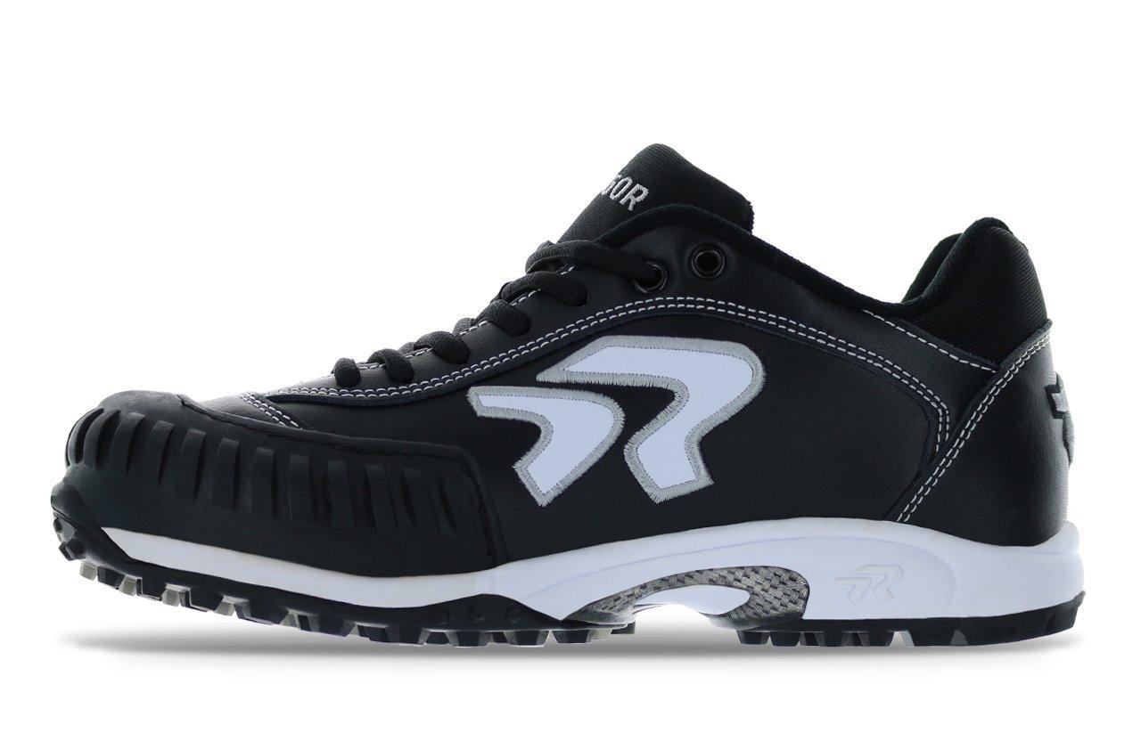 Ringor Dynasty Turf Shoe- Pitching 10.5 Black/White