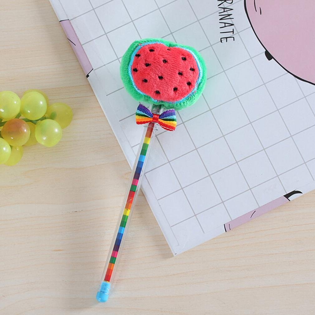 LiPing Cute Vegetable Fruit Ball Creative Gel Pen to Student Kids Children Creative Learning Stationery School Smooth Writing (E) by LiPing (Image #4)