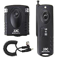 Wireless Shutter Remote Control JJC Remote Shutter Release Controller for Nikon D5 D4s D4 D3s D3x D3 D2x D2Xs D2H D1x D1h D1 D850 D810 D800 D700 D500 D300 D300s D200 D100 F100 F90 F90x F5 F6 Replaces Nikon MC-30/MC-36/MC-30A