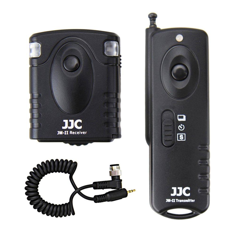 Wireless Shutter Remote Control JJC Remote Shutter Release Controller for Nikon D5 D4s D4 D3s D3x D3 D850 D810 D800 D700 D500 D300 D300s F100 F90 F90x F5 F6 Replaces Nikon MC-30 MC-36 MC-30A