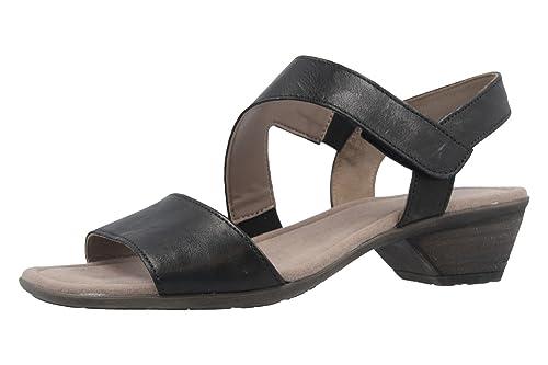 Gabor Damen Sandaletten 64.545.57 schwarz 360676  Amazon.de  Schuhe ... 28f5840a6e