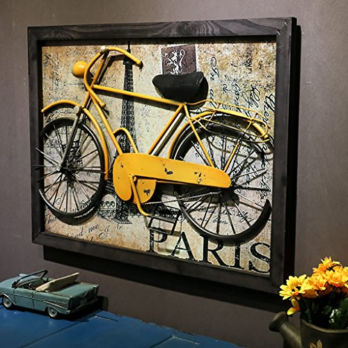 QBDS Vintage Creative Interior Room Wall Decoration Bar Cafe Iron Bicycle Model Personality Wall Decoration Decorative pendant