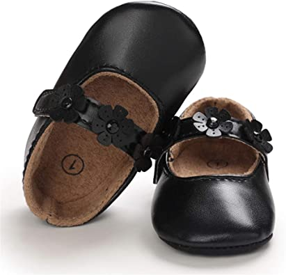SOFMUO Baby Girls Mary Jane Flats with