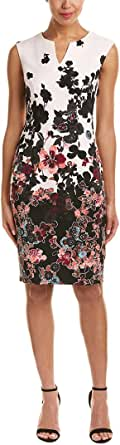 Adrianna Papell Women's Floral Bliss Printed Stretch