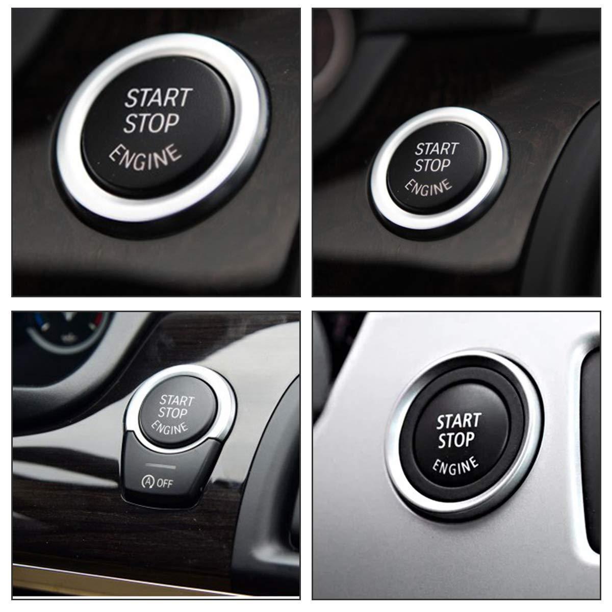 Rosso MASO Motore Auto Start Stop Pulsante Interruttore di ricambi Auto per BMW 1//2//3//5//7/X1//3//4//5//6/