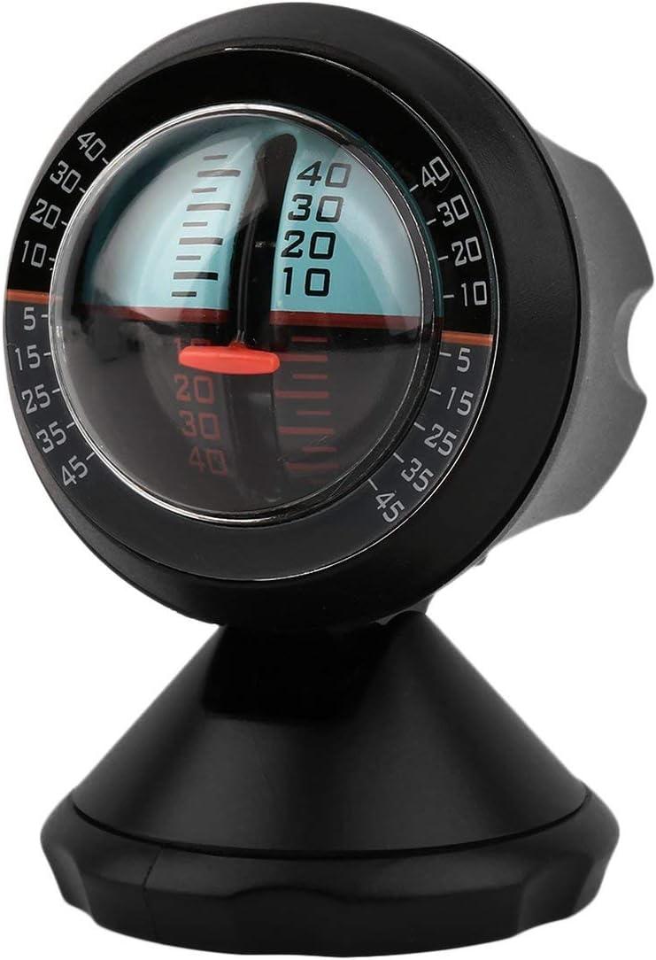 Car Inclinometer Tilt Gauge Indicator Gradient Balancer Slope Angel Level Meter