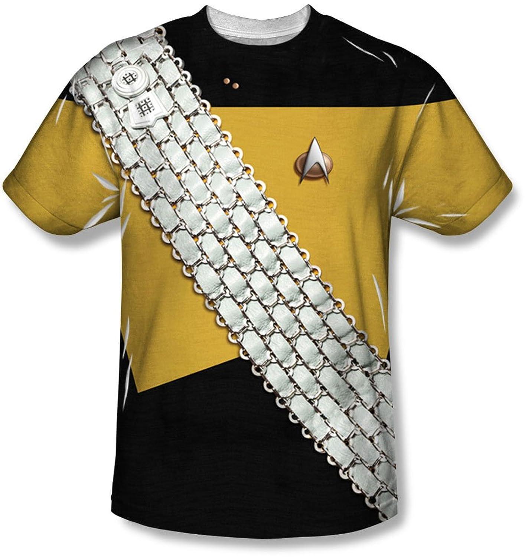 Star Trek - Mens Worf Uniform T-Shirt