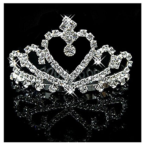 UDORA Crystal Rhinestone Princess Headband product image