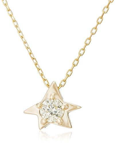 23084e71b7 [フェスタリア ビジュソフィア] festaria bijou SOPHIA K10イエローゴールド ダイヤモンド ペンダント 16442-