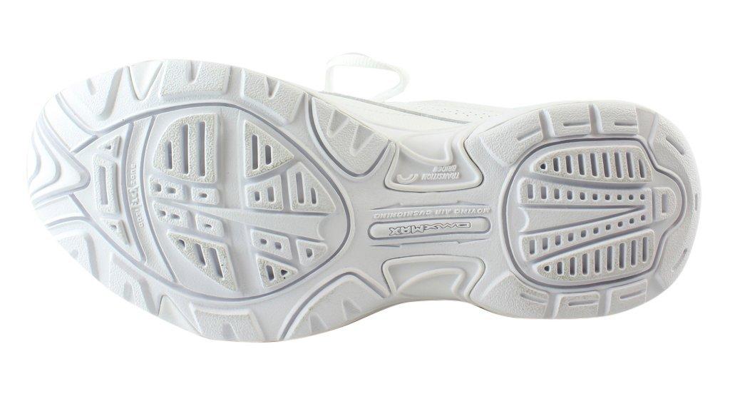 Reebok Women's Walk Ultra V DMX Max Track Shoe, Pr-White/Solar Pink, 9 M US