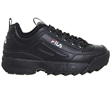 a994da87ff5 Fila Disruptor Ii Premium Trainers Black  Amazon.co.uk  Shoes   Bags