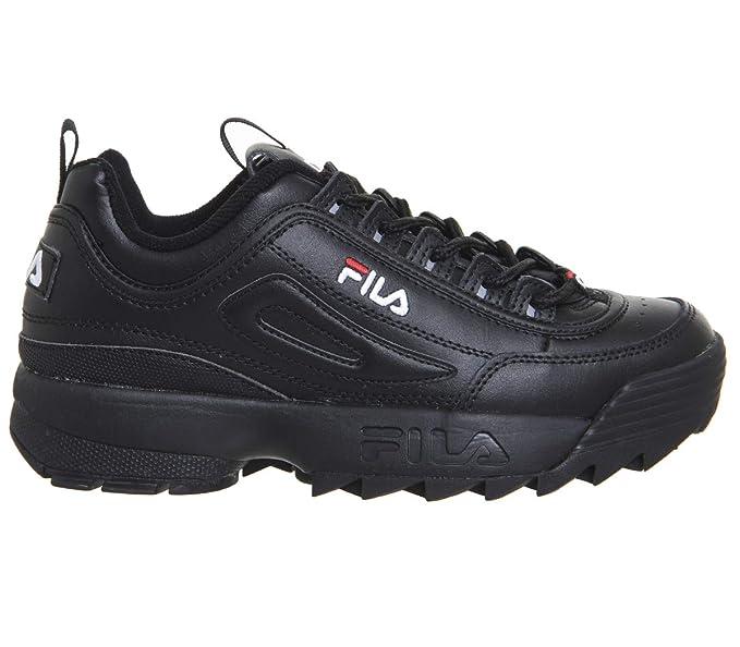 Fila Mujer Blanco Disruptor II Premium Zapatillas  Amazon.es  Zapatos y  complementos 5edb98d8661