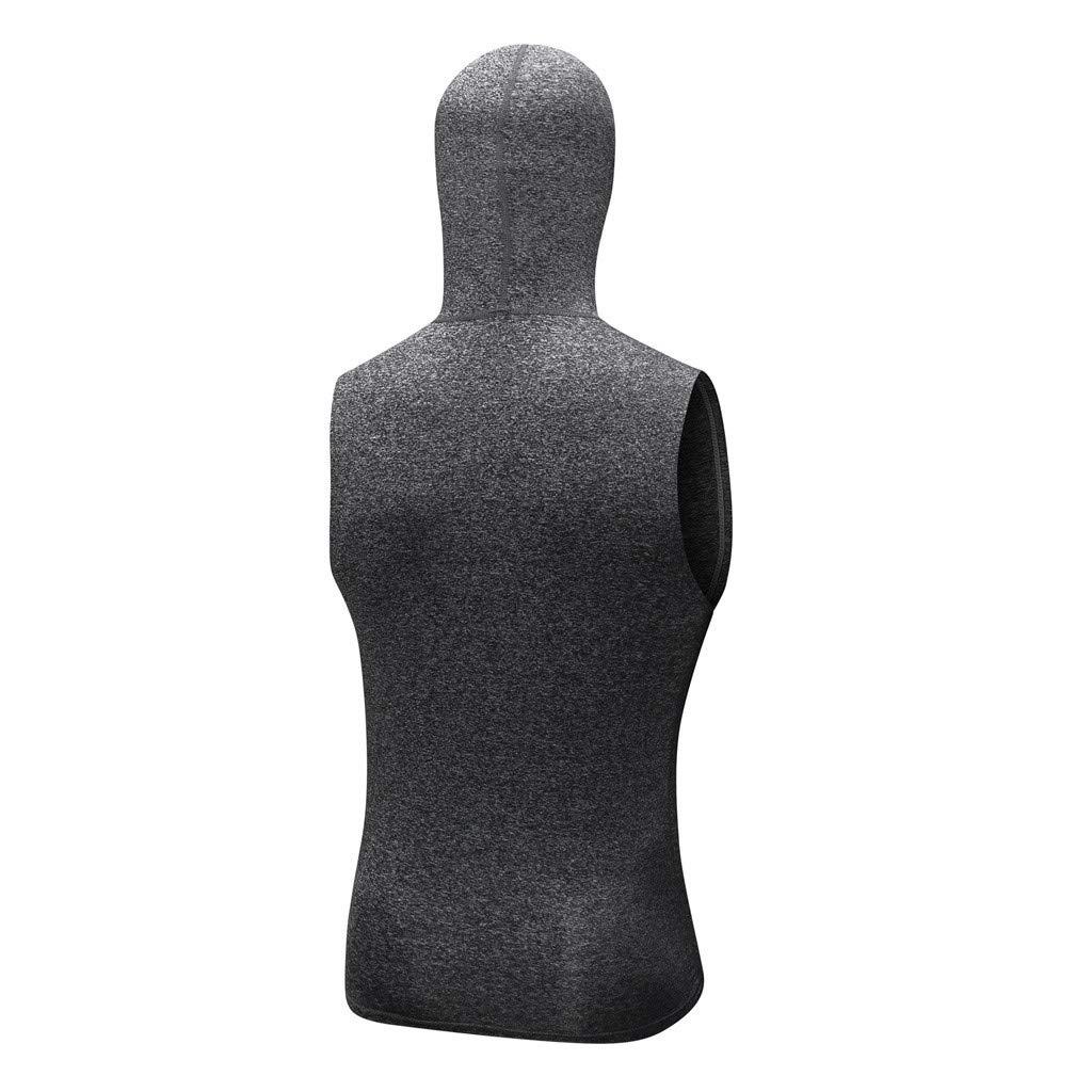 OcEaN Mens Tops Man Sweatshirt Yoga Athletic Shirt Workout Fitness Sports Running Top Blouse