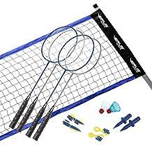 DMI Sports Vintage Badminton Set with Carrying Case