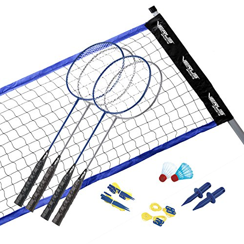 Verus Sports Vintage Badminton Set with Carrying Case