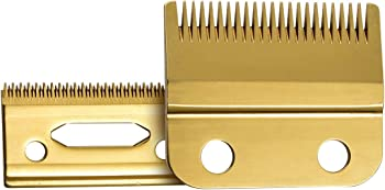 Bestbomg Stagger-Tooth 2-Hole Replacement Blades for Wahl Clipper