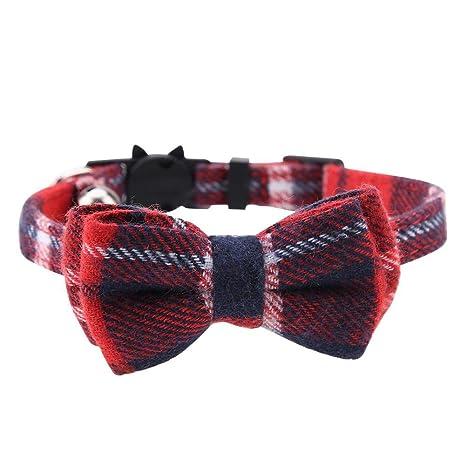 Collar de Bowknot para Mascotas Perro Gato Inserto Inserta Hebilla ...