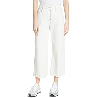 A.L.C. Montag Wide Leg Crop Jean for Women in Almost White, 14 at Women's Jeans store